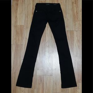 Guess Black Jeans - stretchy straight